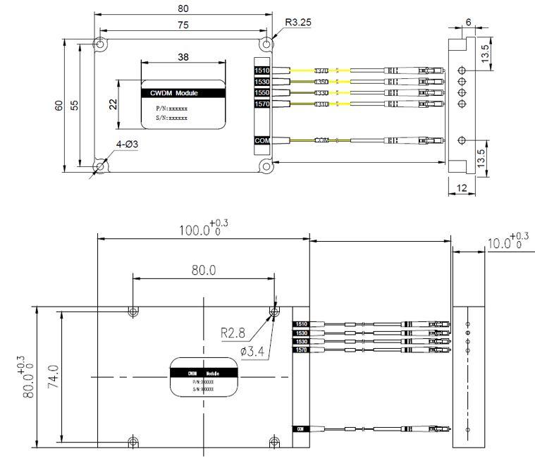 4 Channel CWDM Module Component – Romsat.ua